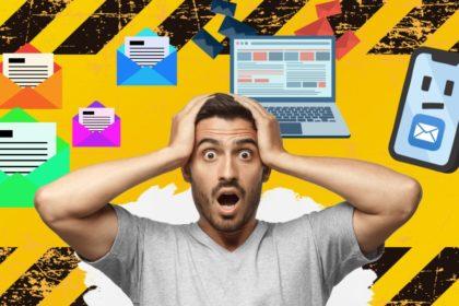 Os maiores riscos ao se utilizar o e-mail