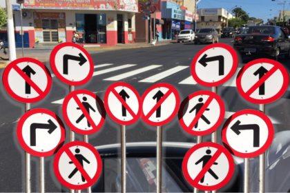 Trânsito em Barra do Garças