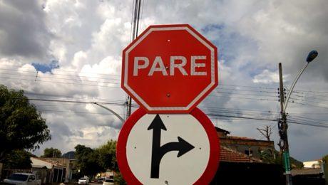 Sinalização de Trânsito em Barra do Garças