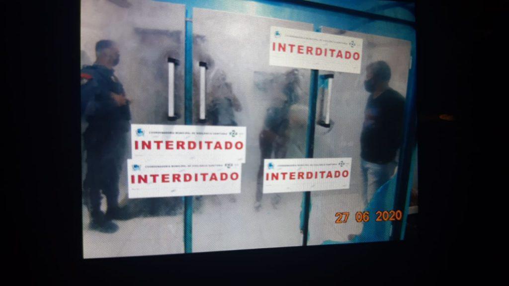 Interdição de mercado em Barra do Garças devido à carne ruim