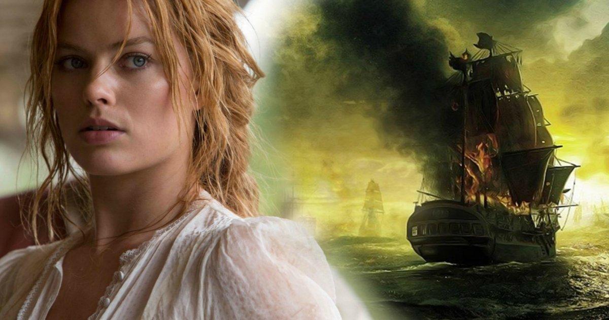 Margot Robbie em Piratas do Caribe