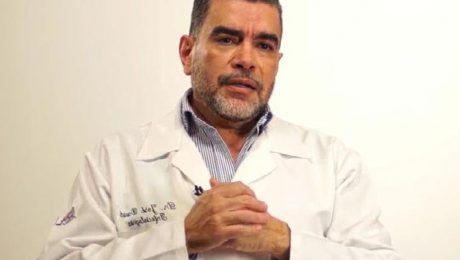 O médico infectologista dr. José David Urbáez Brito
