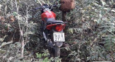 Moto Roubada recuperada pela GPT Aragarças