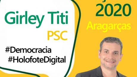 Entrevista com o candidato a prefeito de Aragarças, Girley Titi