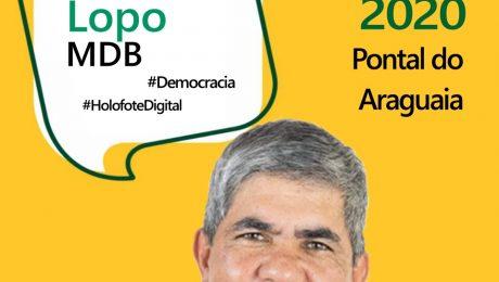 Entrevista do candidato a prefeito de Pontal do Araguaia, Adelcino Lopo