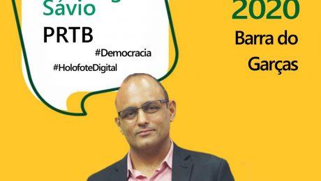 Entrevista com o candidato a prefeito de Barra do Garças, Domingos Sávio