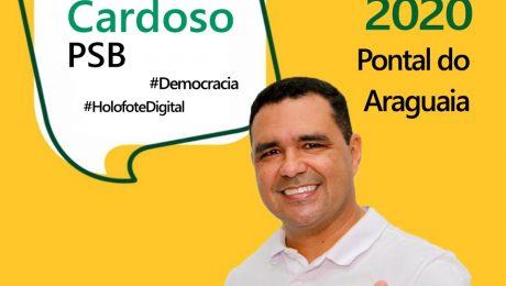 Entrevista com o candidato a prefeito de Pontal do Araguaia, Leandro Cardoso