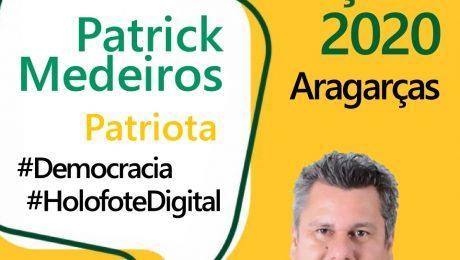 Entrevista com o candidato a prefeito de Aragarças, Patrick Medeiros