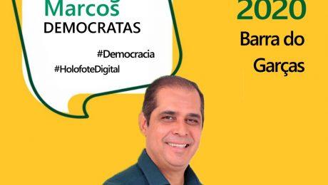 Entrevista com o candidato a prefeito de Barra do Garças, Wellington Marcos
