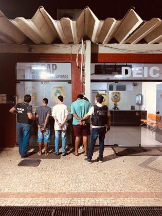 Polícia Civil prende em flagrante 3 suspeitos de aplicar o golpe do intermediário