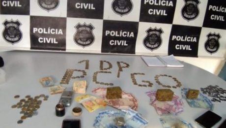 1ª DDP de Valparaíso prende homem suspeito de tráfico; Polícia Civil encontrou estufa para produção de maconha na residência